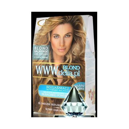 Blond Baleyage, Rozjaśniacz do włosów www.delia.pl marki Delia Cosmetics - zdjęcie nr 1 - Bangla