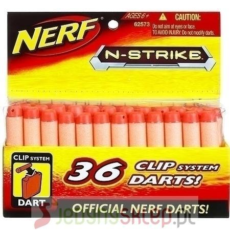 Clip System Darts, Strzałki Clip System marki Nerf - zdjęcie nr 1 - Bangla