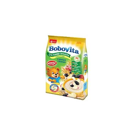 Dla małego brzuszka Kaszka 7 zbóż z jabłkami i śliwkami marki BoboVita - zdjęcie nr 1 - Bangla