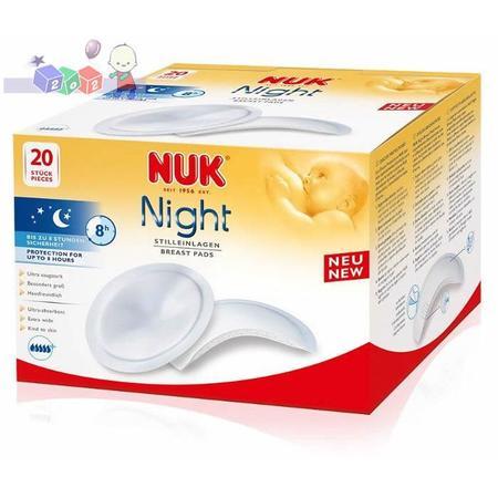Night, Super chłonne wkładki laktacyjne na noc marki Nuk - zdjęcie nr 1 - Bangla