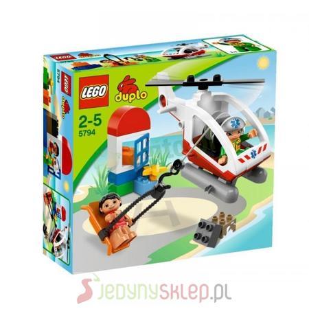 Duplo Helikopter Ratunkowy 5794 marki Lego - zdjęcie nr 1 - Bangla