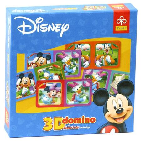 Domino 3D różne obrazki marki Trefl - zdjęcie nr 1 - Bangla