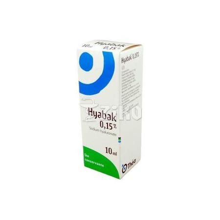 Hyabak krople do oczu marki Laboratoires Thea - zdjęcie nr 1 - Bangla
