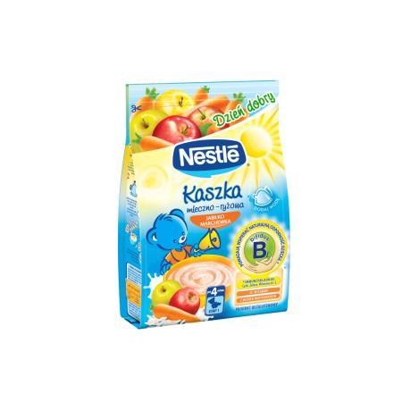 Dzień Dobry, Kaszka mleczno-ryżowa jabłko-marchewka marki Kaszki Nestlé - zdjęcie nr 1 - Bangla