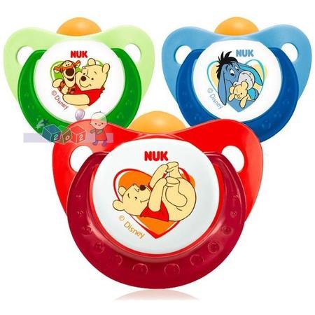 Disney, Uspokajający smoczek kauczukowy marki Nuk - zdjęcie nr 1 - Bangla