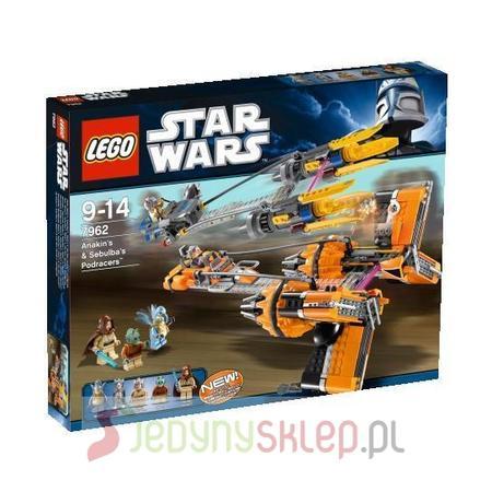 Star Wars Anakin's & Sebulba's 7962 marki Lego - zdjęcie nr 1 - Bangla