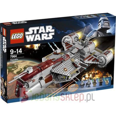 Star Wars Clone Republic Frigate 7964 marki Lego - zdjęcie nr 1 - Bangla