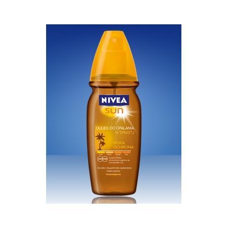 Sun, Olejek do opalania w sprayu SPF6 marki Nivea - zdjęcie nr 1 - Bangla