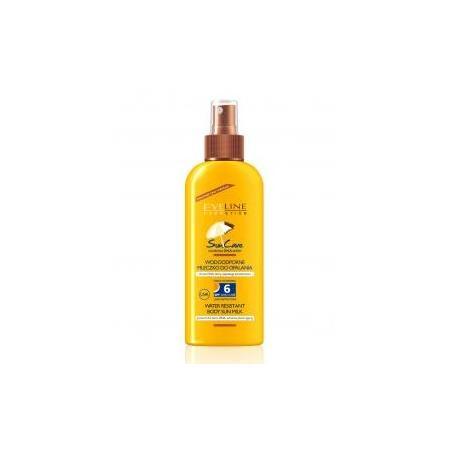Sun Care, Wodoodporne mleczko do opalania w sprayu SPF6, SPF10 marki Eveline Cosmetics - zdjęcie nr 1 - Bangla