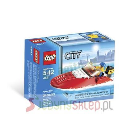 City Łódź Wyścigowa 4641 marki Lego - zdjęcie nr 1 - Bangla