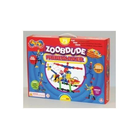 ZoobDude, Dudemaker, 75 elementów, 12004 marki Zoob - zdjęcie nr 1 - Bangla