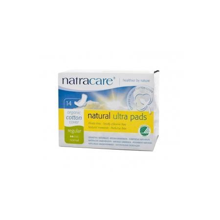 Natural Ultra Pads, Podpaski higieniczne ze skrzydełkami lub bez marki Natracare - zdjęcie nr 1 - Bangla
