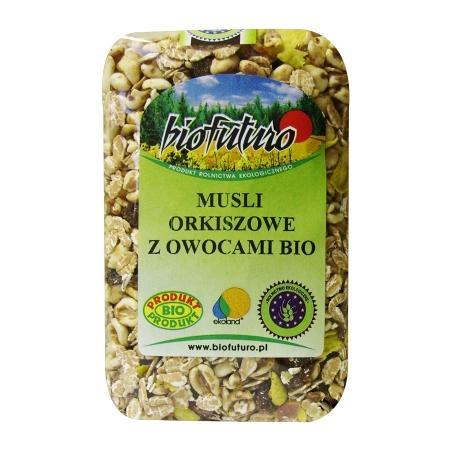 Musli orkiszowe z owocami BIO marki Biofuturo - zdjęcie nr 1 - Bangla