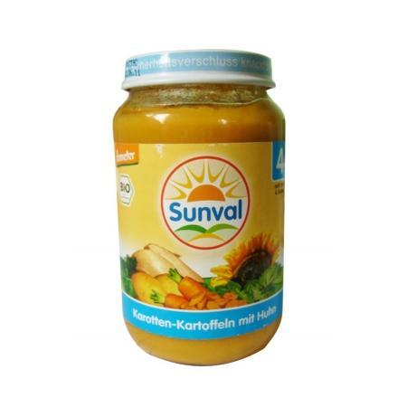Danie dla dzieci Marchew i Ziemniaczki z kurczakiem marki Sunval - zdjęcie nr 1 - Bangla