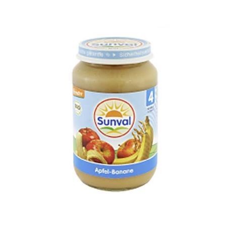 Danie deser dla dzieci Jabłko i Banan marki Sunval - zdjęcie nr 1 - Bangla
