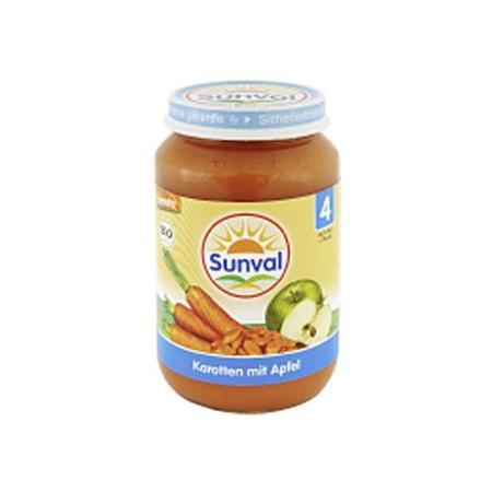 Danie dla dzieci Marchewka i Jabłko marki Sunval - zdjęcie nr 1 - Bangla