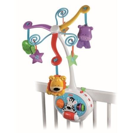 Kolorowe Centrum zabaw z karuzelką 2 w 1, V4436 marki Fisher-Price - zdjęcie nr 1 - Bangla