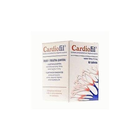 Cardiofil, tabletki marki Filofarm - zdjęcie nr 1 - Bangla