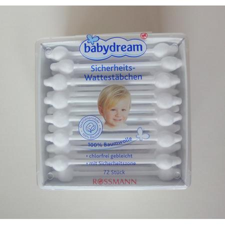Babydream Sicherheits-Wattestäbchen, Patyczki do uszu marki Rossmann - zdjęcie nr 1 - Bangla
