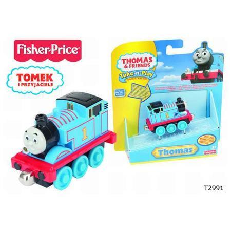 Tomek i Przyjaciele, Lokomotywa Świecąco -grająca Percy T2991 marki Fisher-Price - zdjęcie nr 1 - Bangla
