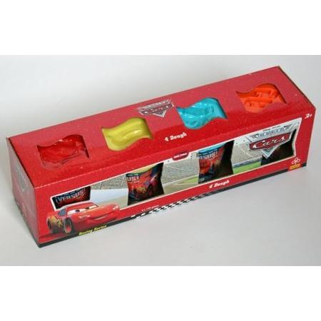 Cars, Ciastolina - Masa 4 kolory 60016 marki Trefl - zdjęcie nr 1 - Bangla