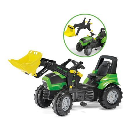 Traktor Deutz Agrotron z łyżką, 710034 marki Rolly Toys - zdjęcie nr 1 - Bangla