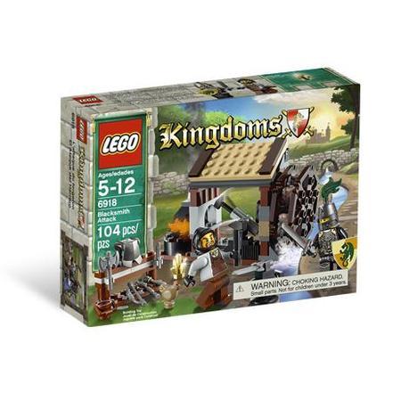 Kingdoms, Atak na kuźnię, 6918 marki Lego - zdjęcie nr 1 - Bangla