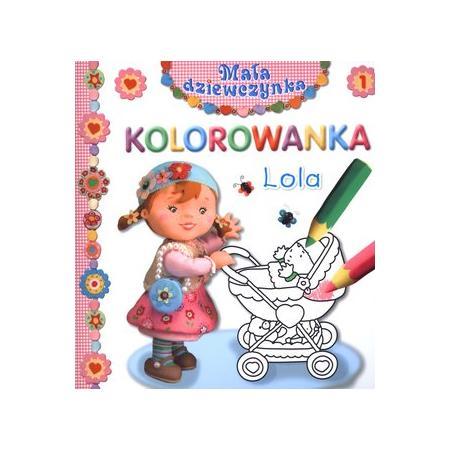 KOLOROWANKA Mała dziewczynka - seria książeczek marki FK Jacek i Krzysztof Olesiejuk - zdjęcie nr 1 - Bangla