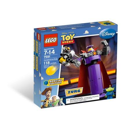 Toy Story, Zbuduj Zurga, 7591 marki Lego - zdjęcie nr 1 - Bangla