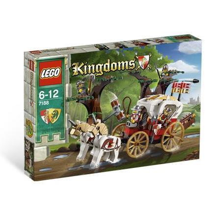 Kingdoms, Atak na królewski powóz, 7188 marki Lego - zdjęcie nr 1 - Bangla