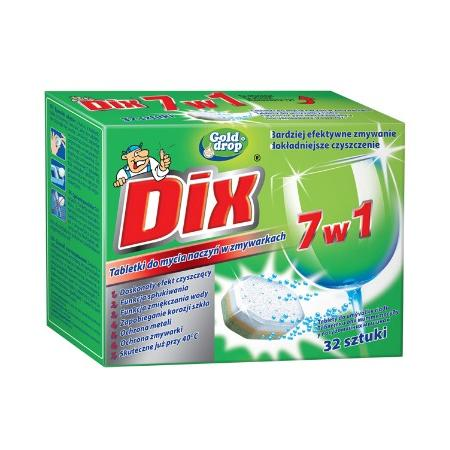 Dix, 7 w 1, Tabletki do mycia naczyń w zmywarkach marki Gold Drop - zdjęcie nr 1 - Bangla