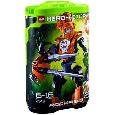Hero Factory, Rocka 3.0, 2143 marki Lego - zdjęcie nr 1 - Bangla