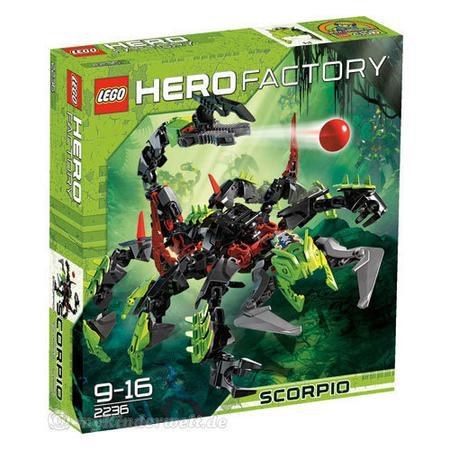 Hero Factory, Scorpio, 2236 marki Lego - zdjęcie nr 1 - Bangla