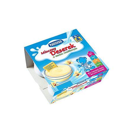 Mleczny deserek, waniliowy lub czekoladowy marki Kaszki Nestlé - zdjęcie nr 1 - Bangla