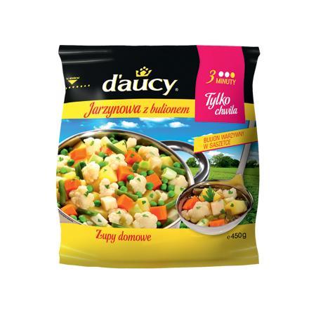 Zupa jarzynowa z bulionem marki D'aucy - zdjęcie nr 1 - Bangla
