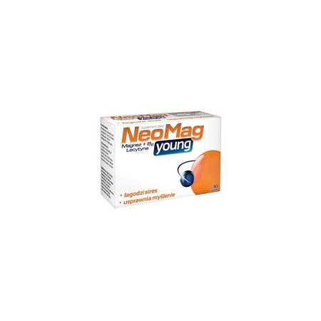 NeoMag Young, tabletki marki Aflofarm - zdjęcie nr 1 - Bangla