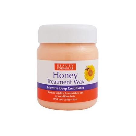 Honey Treatment Wax, Intensive Deep Conditioner, MIÓD Głęboko odżywiający wosk do włosów marki Beauty Formulas - zdjęcie nr 1 - Bangla