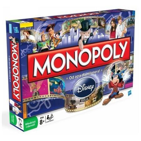Monopoly Disney 19643 marki Hasbro - zdjęcie nr 1 - Bangla