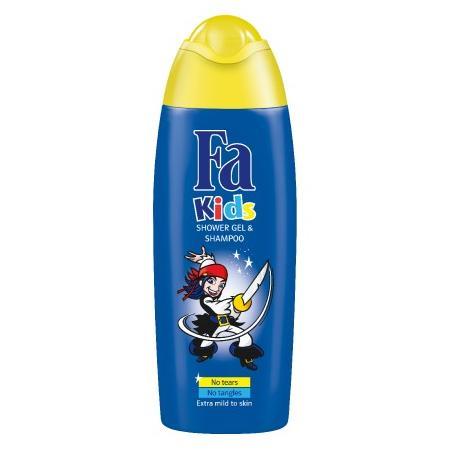 Fa Kids, Shower Gel & Shampoo, niebieski / różowy marki Henkel - zdjęcie nr 1 - Bangla