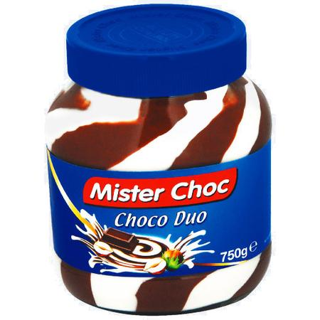Mister Choc Choco Duo Masło czekoladowe marki Lidl - zdjęcie nr 1 - Bangla