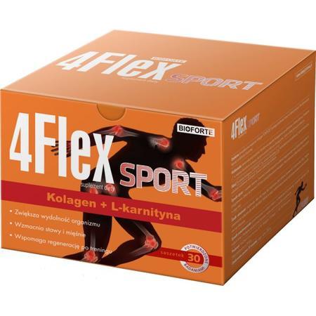 4Flex Sport, saszetki marki Bioforte - zdjęcie nr 1 - Bangla