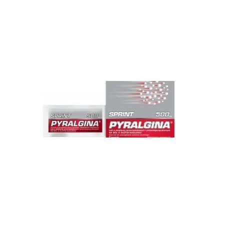Pyralgina Sprint, saszetki marki Polpharma - zdjęcie nr 1 - Bangla