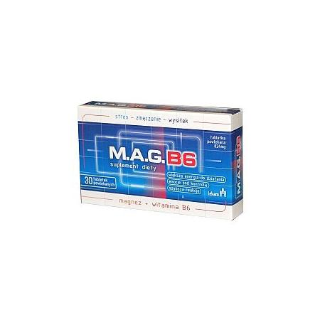 MAG B6, tabletki marki Lekam - zdjęcie nr 1 - Bangla