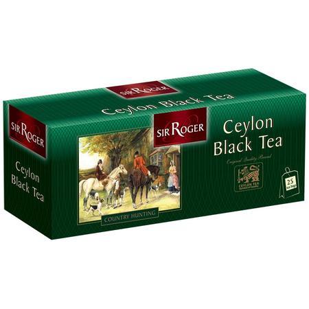 Ceylon Black Tea, torebki marki Sir Roger - zdjęcie nr 1 - Bangla