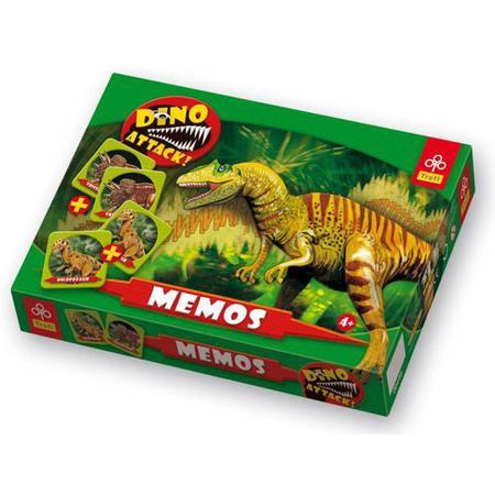 Memos Dino Attack - Dinozaury 0446 marki Trefl - zdjęcie nr 1 - Bangla