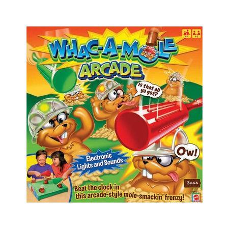Whac-a-mole Arcade, O rety! Krety! T8732 marki Mattel - zdjęcie nr 1 - Bangla