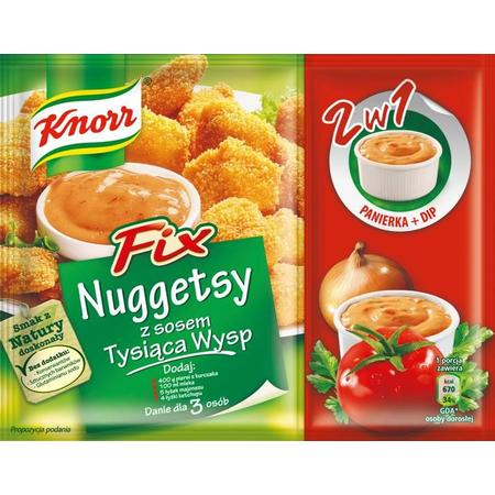 Fix, Nuggetsy z sosem Tysiąca Wysp marki Knorr - zdjęcie nr 1 - Bangla