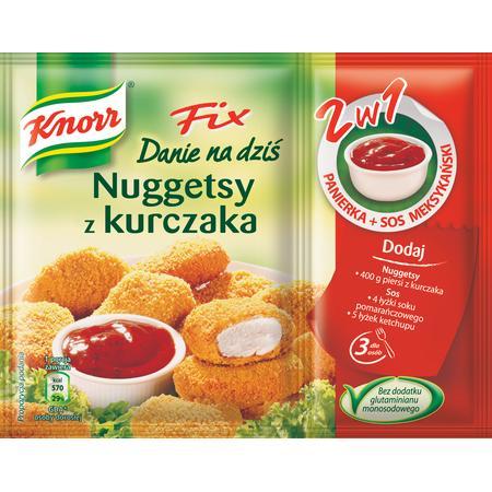 Fix, Nuggetsy z Kurczaka marki Knorr - zdjęcie nr 1 - Bangla