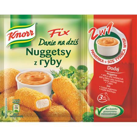 Fix, Nuggetsy z Ryby marki Knorr - zdjęcie nr 1 - Bangla