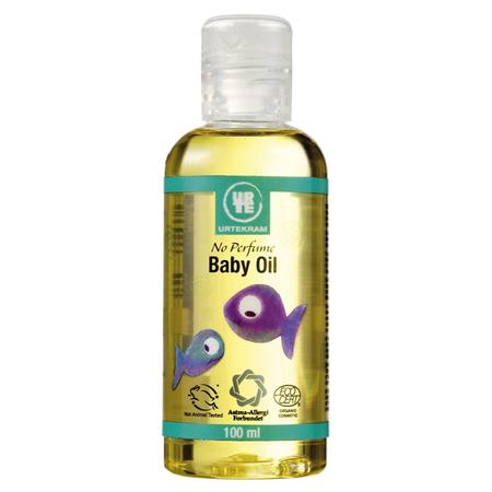 No Perfume Baby Oil, Oliwka do ciała dla niemowląt marki Urtekram - zdjęcie nr 1 - Bangla